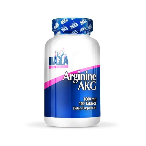 Haya Labs Arginine AKG 1000mg 100 tab 0