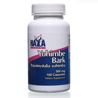 Haya Labs Yohimbe Bark 500 mg 100 caps 0