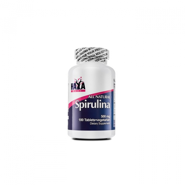 Haya Labs All Natural Spirulina 500 mg 100 tab 0