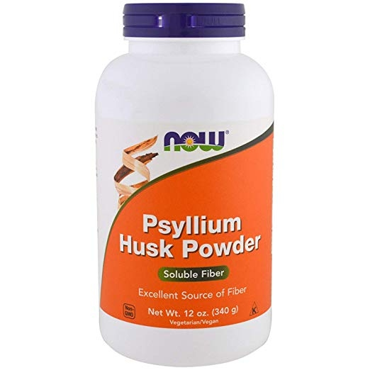 Now Psyllium Husk Powder 340 g 0