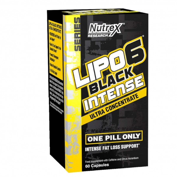Nutrex Lipo 6 Black Intense Ultraconcentrate Version Black Pepper USA 60 caps 0