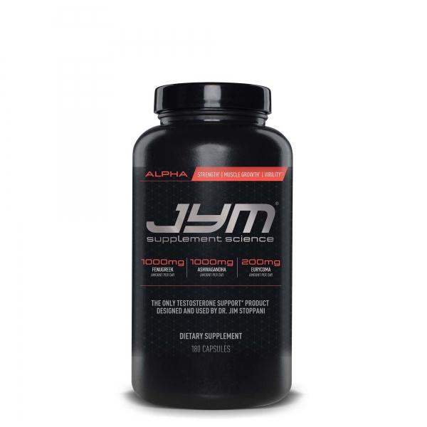 Jym Alpha 180 caps 0
