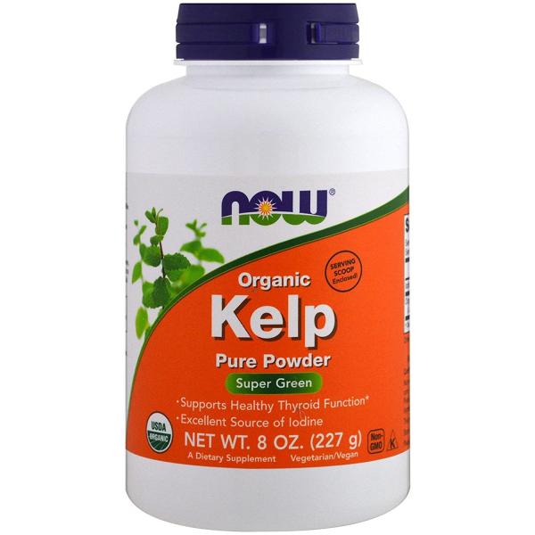 Now Organic Kelp Pure Powder 227 g 0