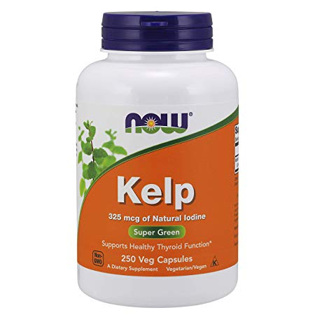 Now Kelp 250 veg caps 0