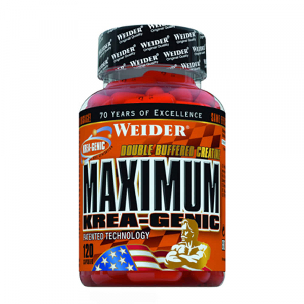 Weider Maximum Krea-Genic 120 caps 0