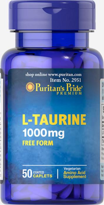 Puritan`s Pride Taurine 1000 mg 50 capsule [0]