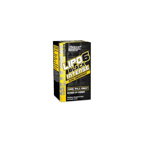 Nutrex Lipo 6 Black Intense Ultraconcentrate 60 caps US 0