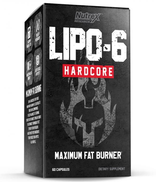 Nutrex Lipo 6 Hardcore Maximum Fat Burner 60 caps [0]
