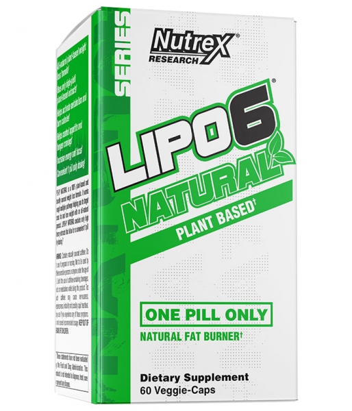 Nutrex Lipo 6 Natural 60 veg caps [0]