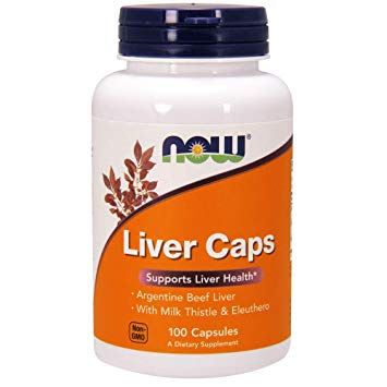 Now Liver Caps 100 caps 0