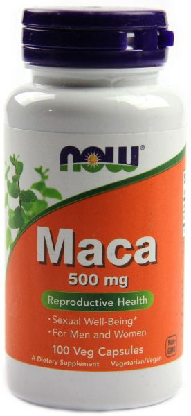 Now Maca 500 mg 100 veg caps [0]