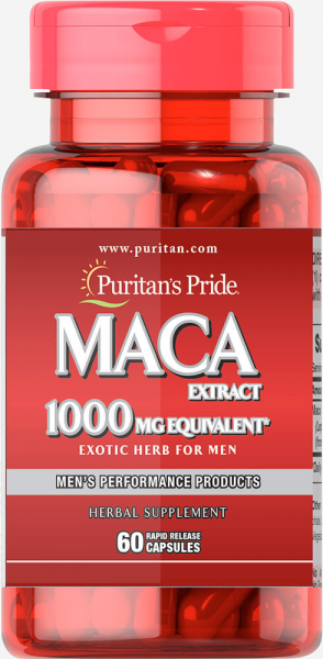 Puritan`s Pride Maca Extract 60 caps [0]