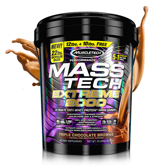 Muscletech Mass Tech Extreme 2000 10 kg 0