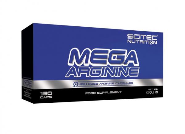 Scitec Mega Arginine  120 caps [0]