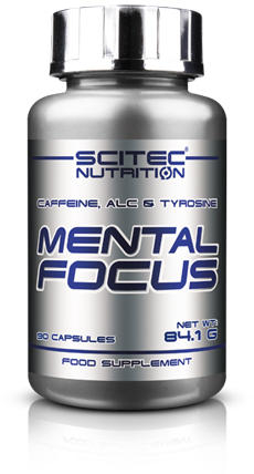 Scitec Mental Focus 90 caps 0