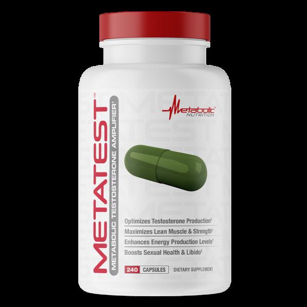Metabolic Nutrition MetaTest 240 caps 0