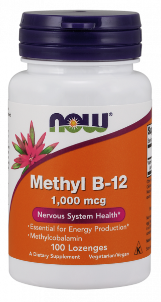 Now Methyl B-12 1000 mg 100 lozenges 0