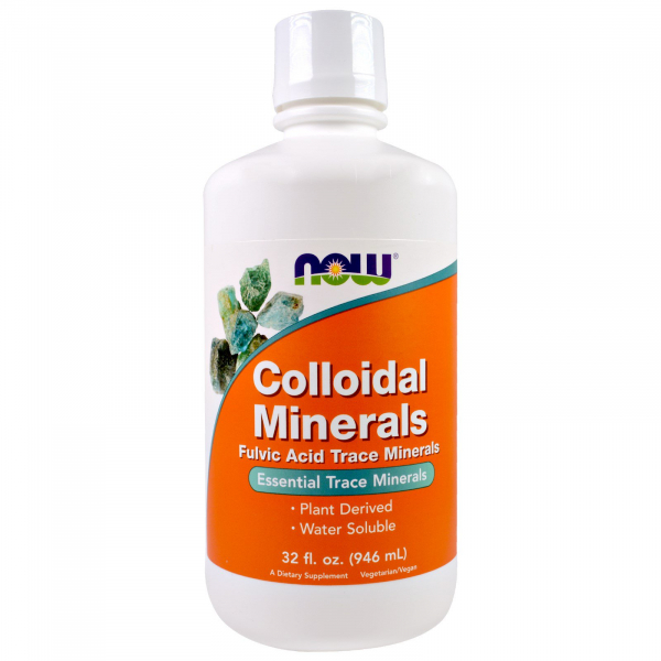 Now Colloidal Minerals  946 ml 0