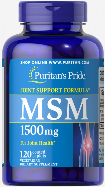 Puritan`s Pride MSM 1000 mg 120 caps 0