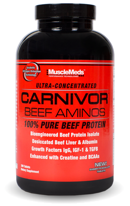 MuscleMeds Carnivor Beef Amino 300 tab