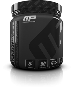 MusclePharm Assault Black 30 serv 0