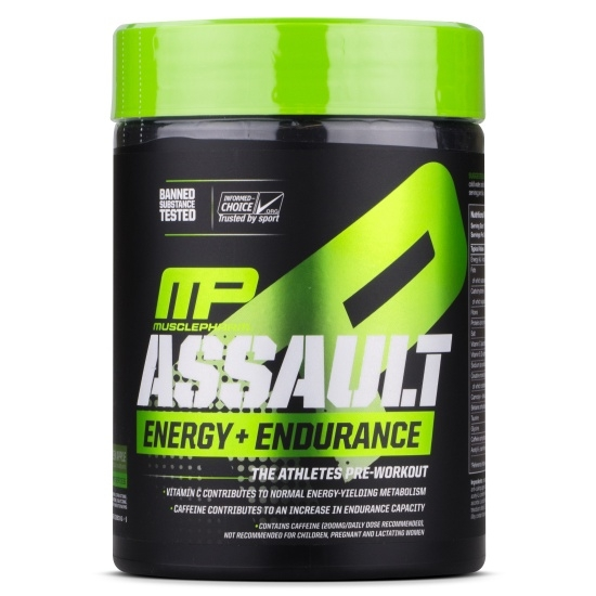 MusclePharm Assault Energy + Endurance 30 serv 0