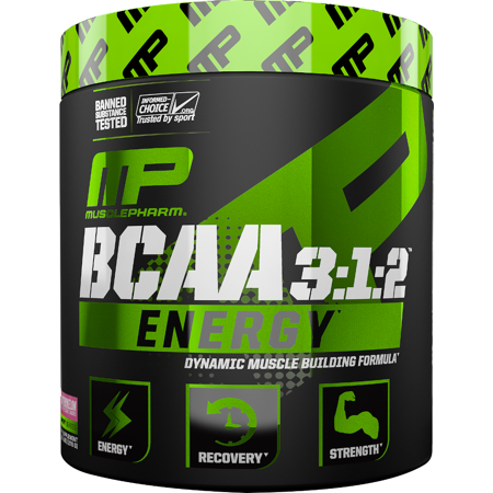 MusclePharm BCAA 3:1:2 Energy