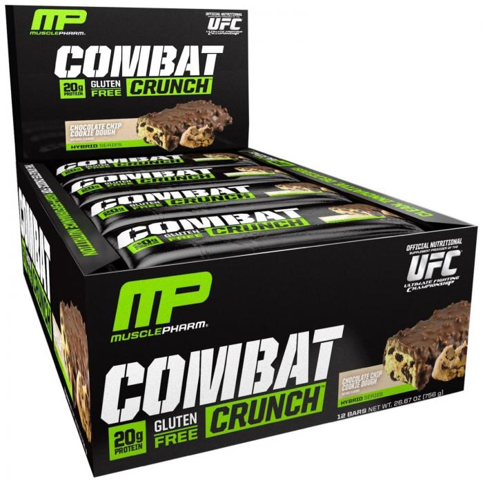 Musclepharm Combat Crunch 12 Bars 0