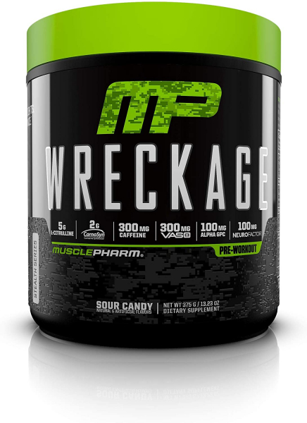 MusclePharm Wreckage Pre-Workout 0