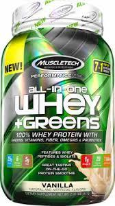 Muscletech All In One Whey + Greens 907 g 0