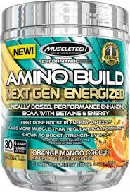Muscletech Amino Build Next Gen Energized 30 serv 0