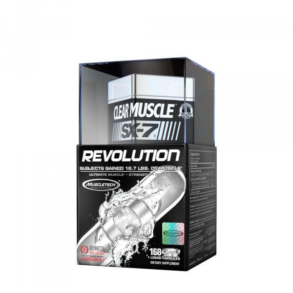 Muscletech Clear Muscle SX-7 Revolution 168 caps 0