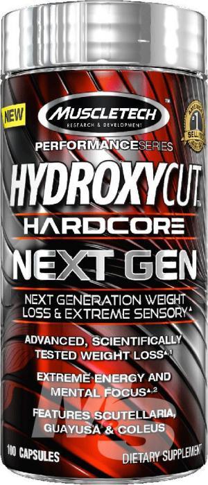 Muscletech Hydroxycut Next Gen US 100 capsule 0
