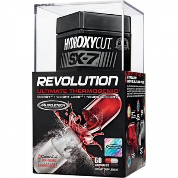 Muscletech Hydroxycut  SX-7 Revolution 60 caps 0