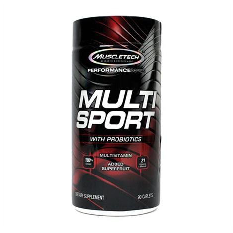 Muscletech Multi Sport Probiotic 90 caps 0