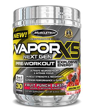 Muscletech Vapor X5 Next Gen 0
