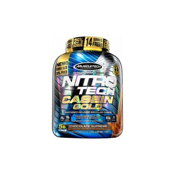 Muscletech Nitro Tech Casein Gold 2,3 kg 0