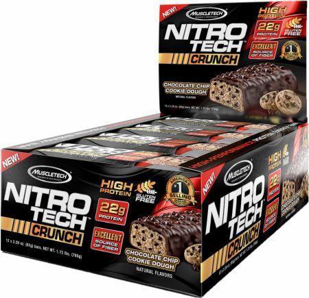 Muscletech Nitro Tech Crunch Bars 12 bc 0