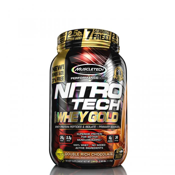 Muscletech Nitro Tech Whey Gold 1.135 kg 0