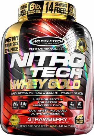 Muscletech Nitro Tech Whey Gold 2.72 kg 0