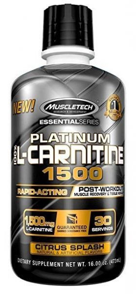 Muscletech Platinum L-Carnitine 473 ml 1