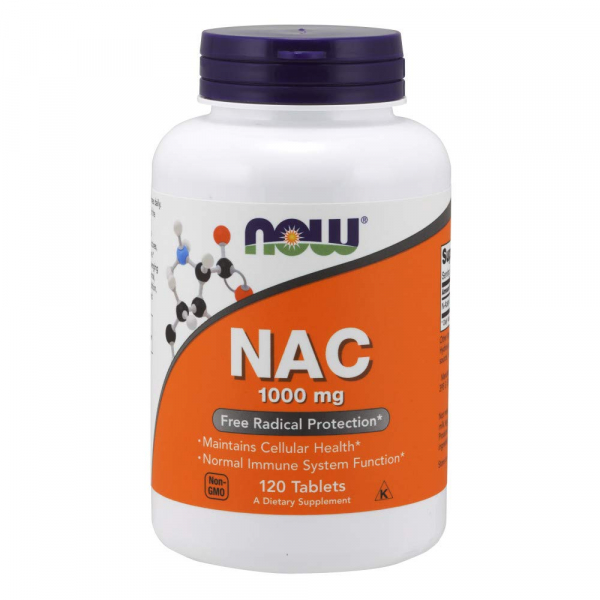Now NAC 1000 mg 120 tab 0