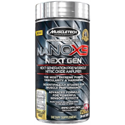Muscletech NanoX9 Next Gen 120 caps 0