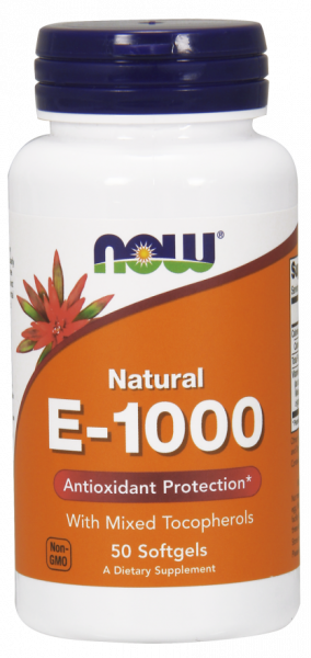 Now E-1000 50 softgels 0