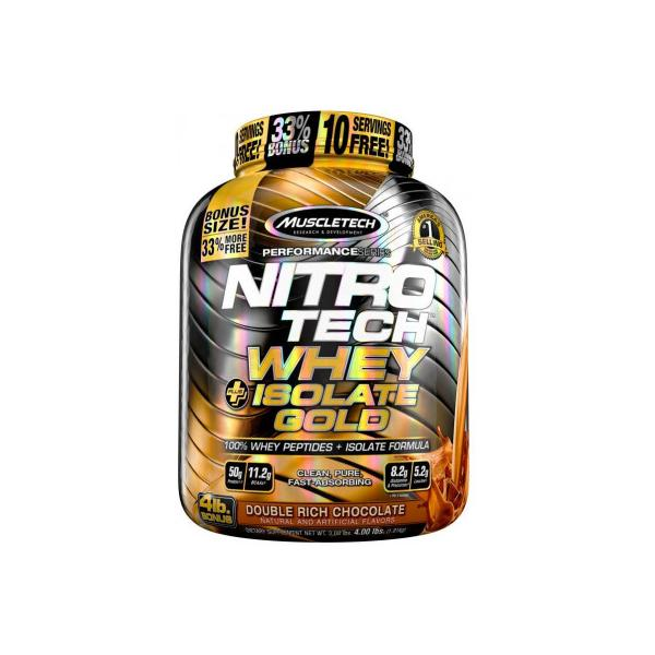 Muscletech Nitro Tech Whey Isolate Gold 1,8 kg 0