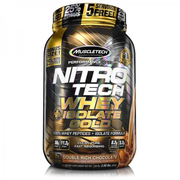 Muscletech Nitro Tech Whey Isolate Gold 908 g 0