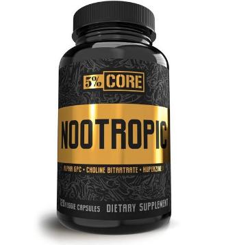 5% Nutrition Nootropic Core Series - 120 vcaps [0]