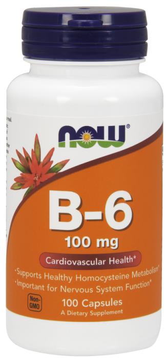 now-b-6-100-mg-100-caps