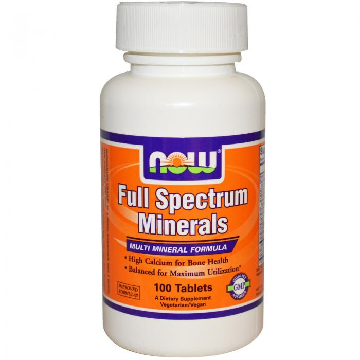 Now Full Spectrum Mineral 100 tab 0