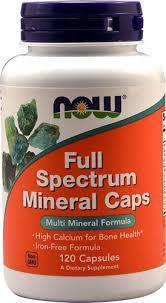 NOW Full Spectrum Mineral 120 caps 0